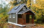 Как построить маленький деревянный домик на даче?