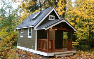 Как построить маленький дачный домик своими руками?