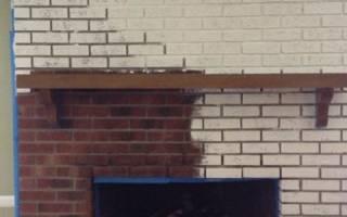 Чем покрасить печку из кирпича на даче?