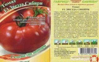 Томат звезда Сибири характеристика и описание сорта