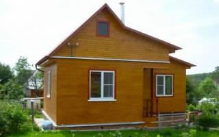 Как построить самому дачный дом?