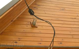 Подключение дачного дома к электросети проводом СИП