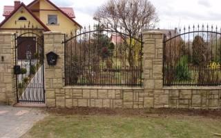 Как сделать красивый забор на даче?