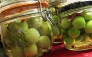 Рецепты маринованных зелёных помидоров с чесноком
