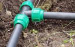 Дачный водопровод своими руками из пластиковых труб