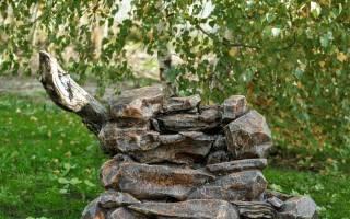 Камни для дизайна дачного участка
