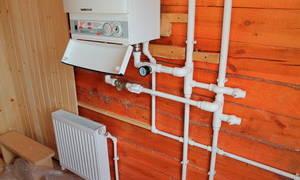 Водяное отопление в дачном доме своими руками