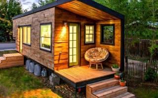 Как переделать бытовку в дачный домик?