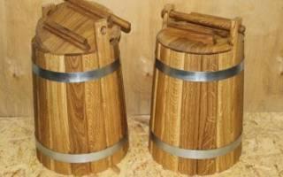 Бочки для солений – как их подготавливать и использовать