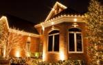 Освещение дачного дома внутри
