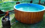 Как нагреть воду в бассейне на даче?