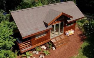 Материал для кровли крыши дачного дома