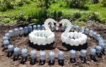 Как использовать пластиковые бутылки на даче?