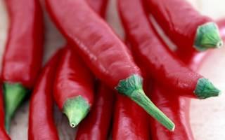 Как нужно хранить перец чили?