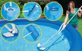 Как ухаживать за бассейном на даче?