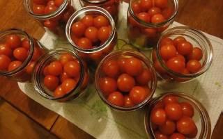 Засолка помидоров черри на зиму – проще некуда!