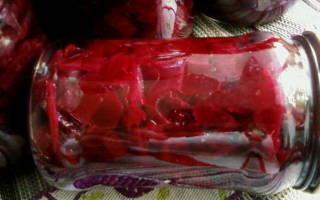 Квашеная свекла – запасаем заготовки для горячих блюд