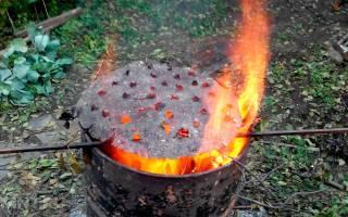 Как сжигать мусор на дачном участке?
