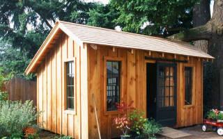 Как построить сауну на даче?