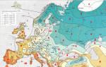 Климатические зоны России для посадки растений