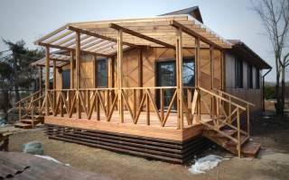 Старый деревянный дачный домик реконструкция