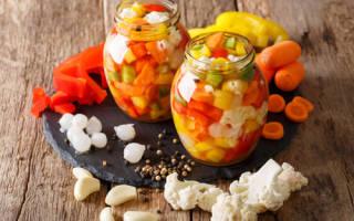 Консервация цветной капусты на зиму – рецепты заготовки