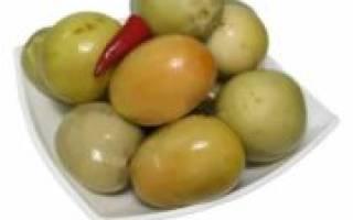 Как заготавливать квашенные зеленые помидоры на зиму?