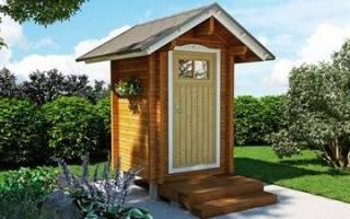 Установка туалетов на дачном участке