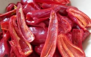 Как сушить красный острый перец – рецепты хозяйкам